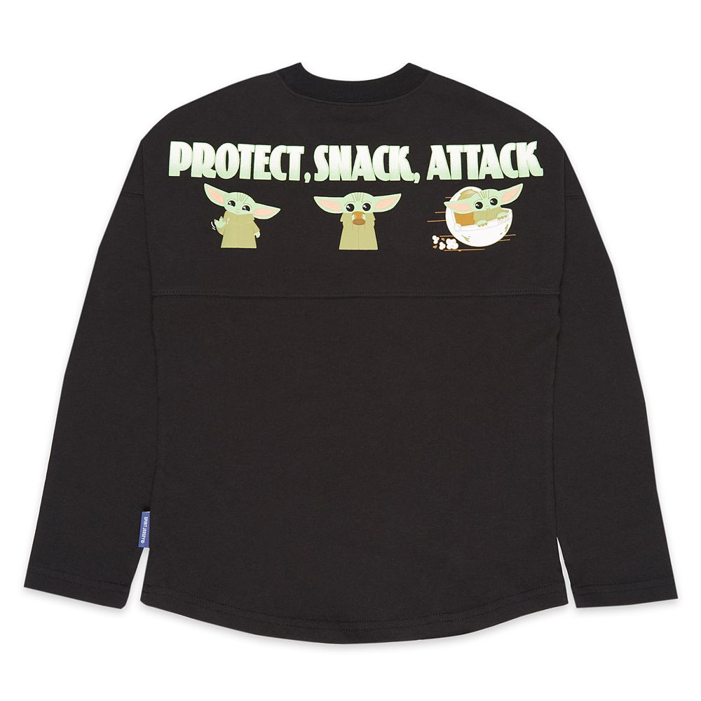 The Child ''Protect, Snack, Attack'' Spirit Jersey for Adults – Star Wars: The Mandalorian