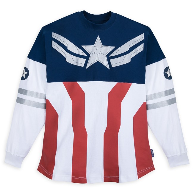 Captain America Spirit Jersey for Adults – The Falcon and the Winter Soldier