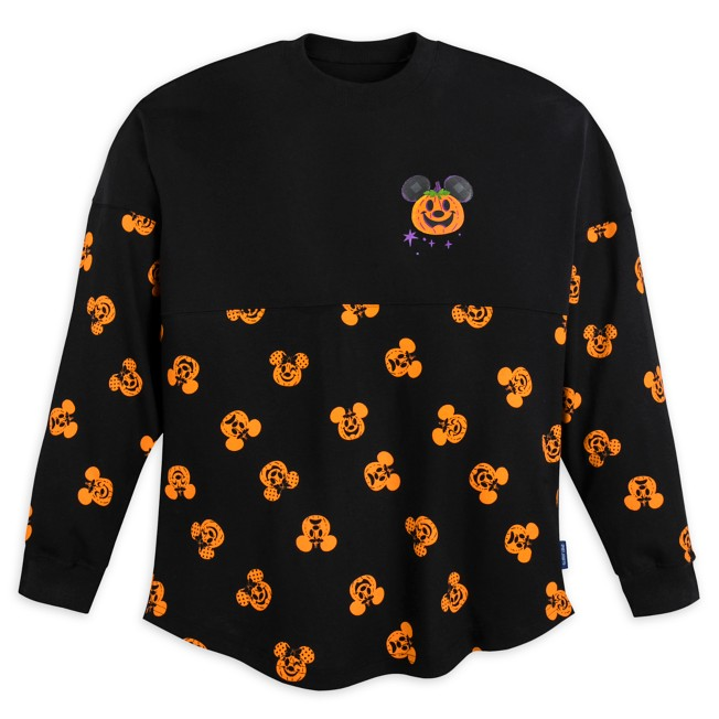 Mickey and Minnie Mouse Halloween Spirit Jersey for Adults