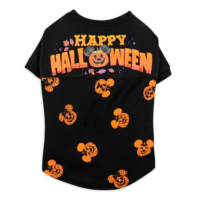 Mickey and Minnie Mouse Halloween Spirit Jersey for Pets