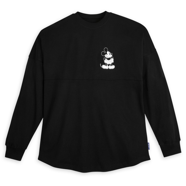 Mickey Mouse Spirit Jersey for Adults – Black