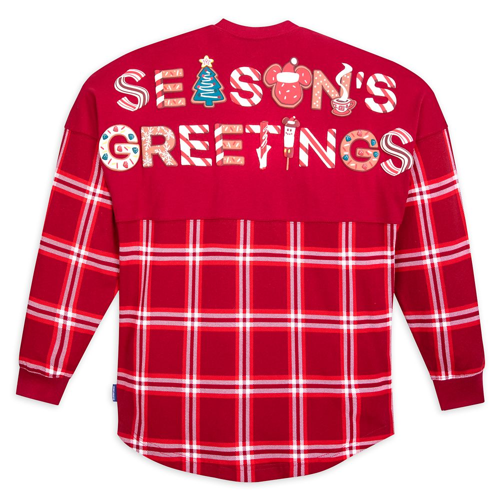 Mickey Mouse Holiday Plaid Spirit Jersey for Adults