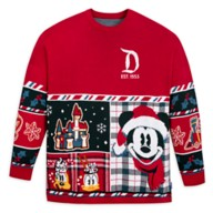 Mickey Mouse and Friends Holiday Sweater by Spirit Jersey for Adults – Disneyland