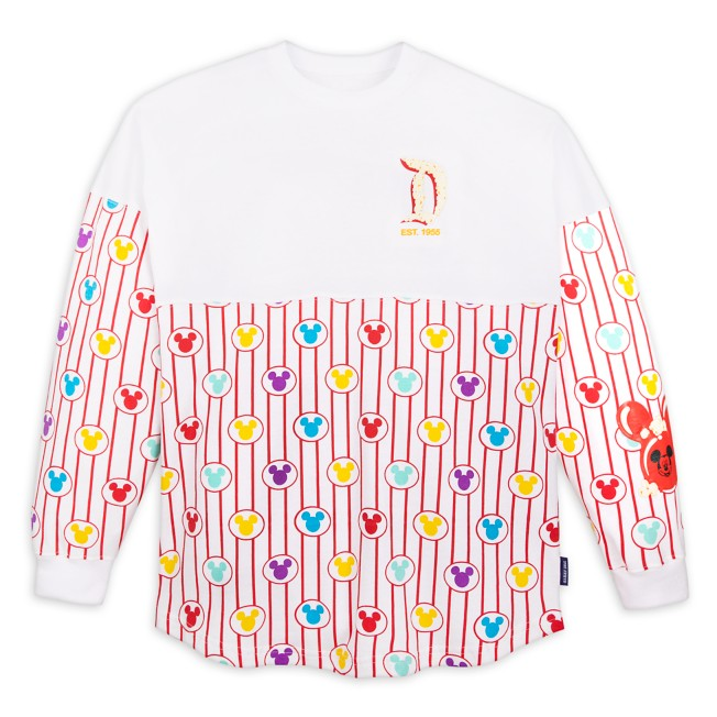 Mickey Mouse Balloons and Popcorn Spirit Jersey for Adults – Disneyland