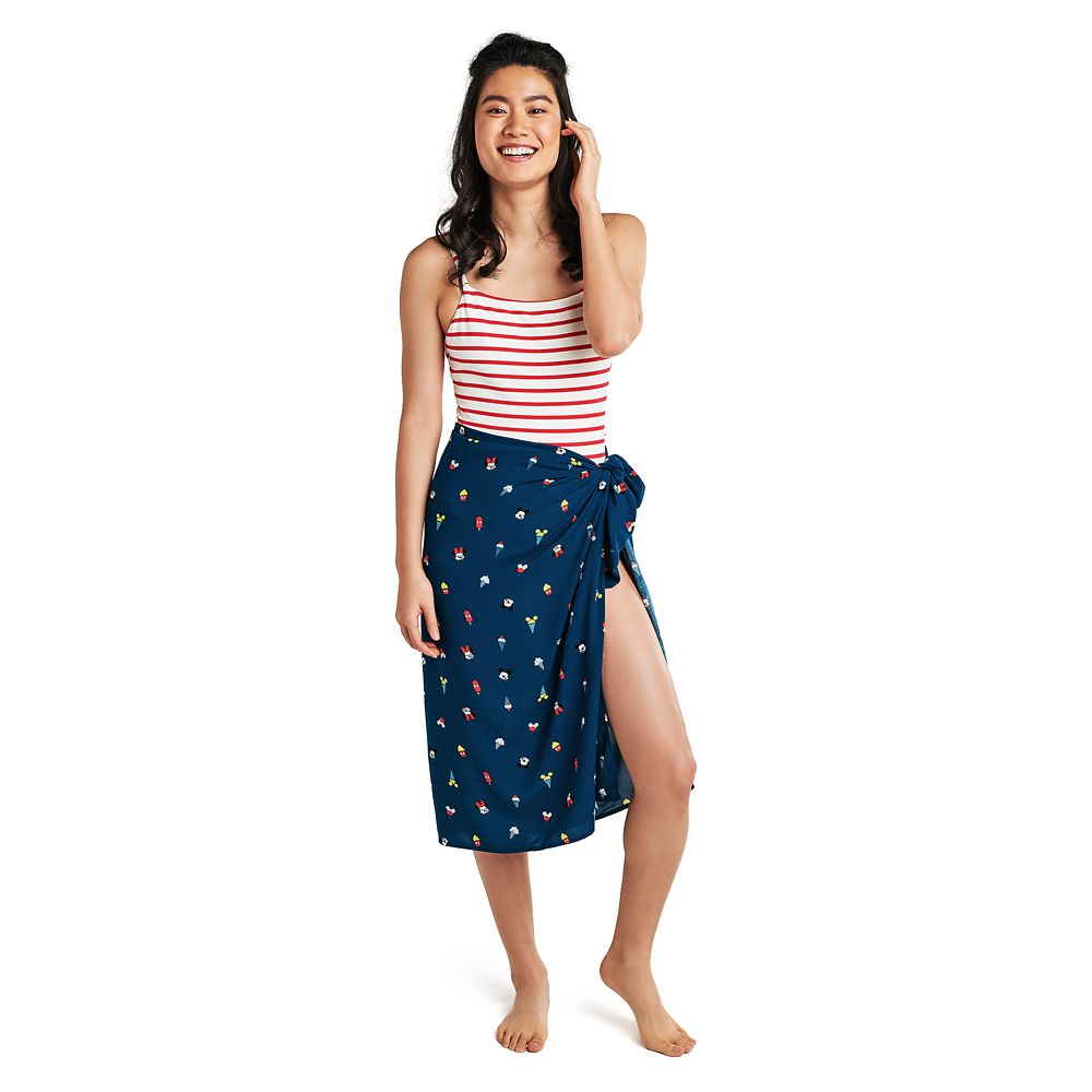 Mickey and Minnie Mouse Summer Fun Sarong for Women