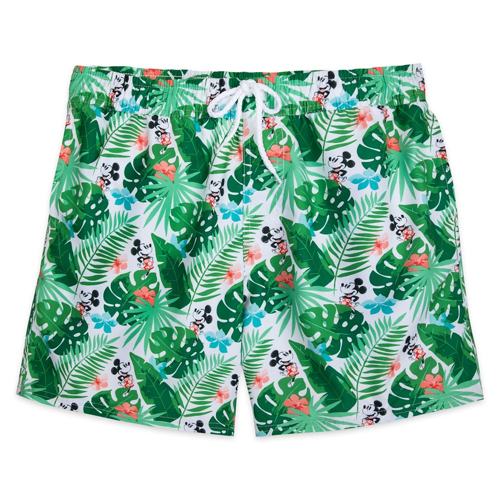 Mickey Mouse Tropical Swim Trunks for Men