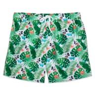 Mickey Mouse Tropical Swim Trunks for Men