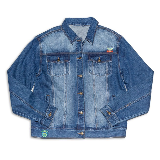 Toy Story 25th Anniversary Denim Jacket for Adults