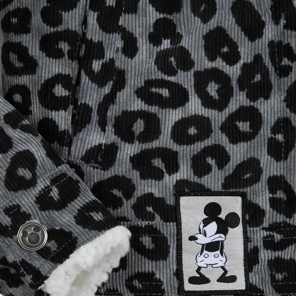 Mickey Mouse Grayscale Jacket for Women