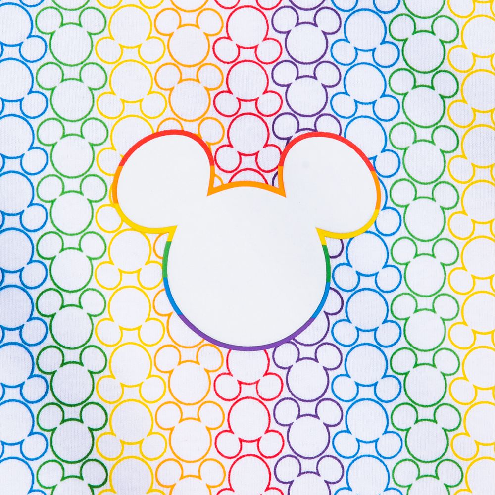 Rainbow Disney Collection Mickey Mouse T-Shirt for Adults by Spirit Jersey – 2020