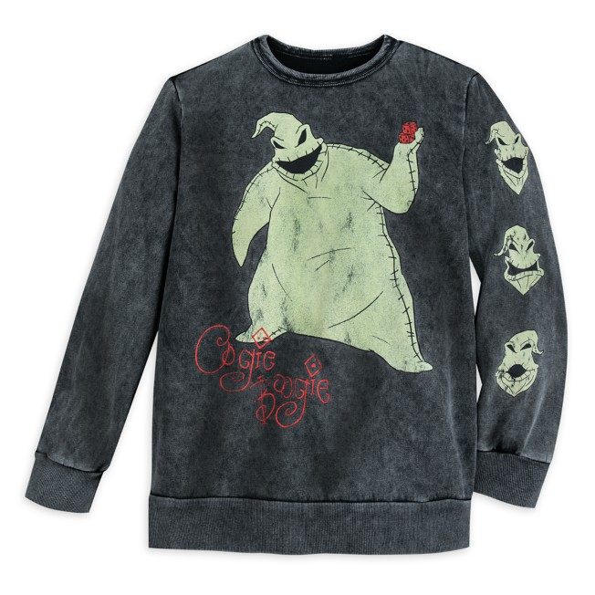 Oogie Boogie Pullover Sweatshirt for Adults – The Nightmare Before Christmas