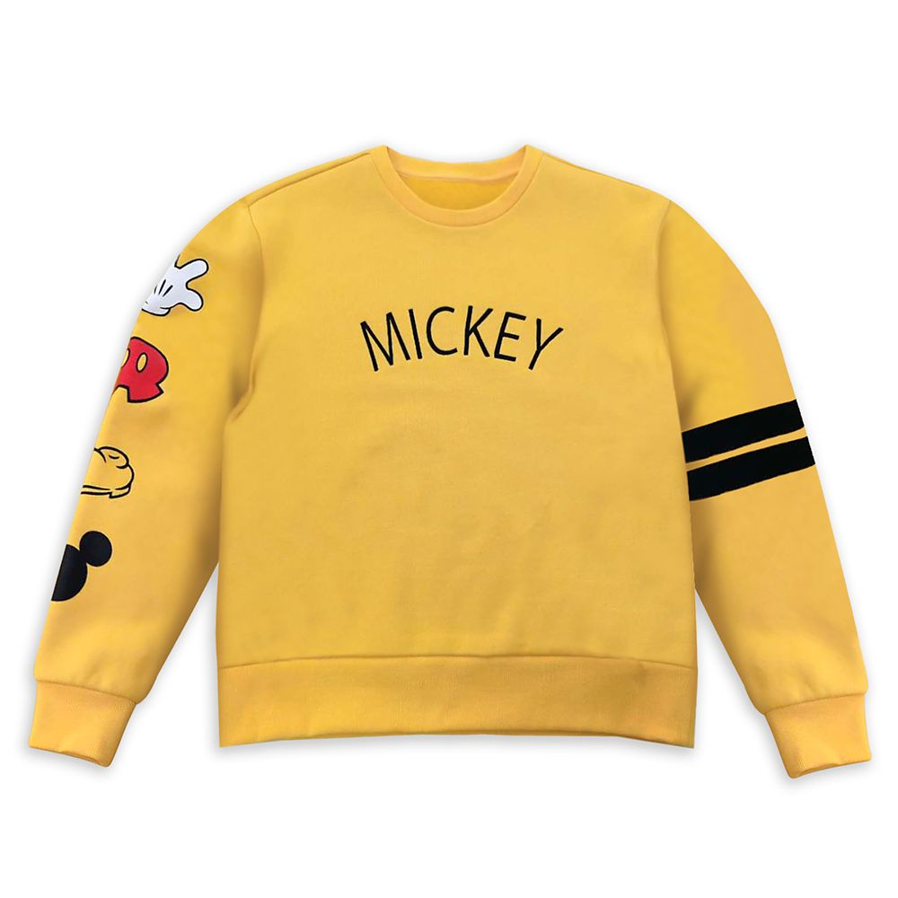 Mickey Mouse Parts Pullover Top for Women
