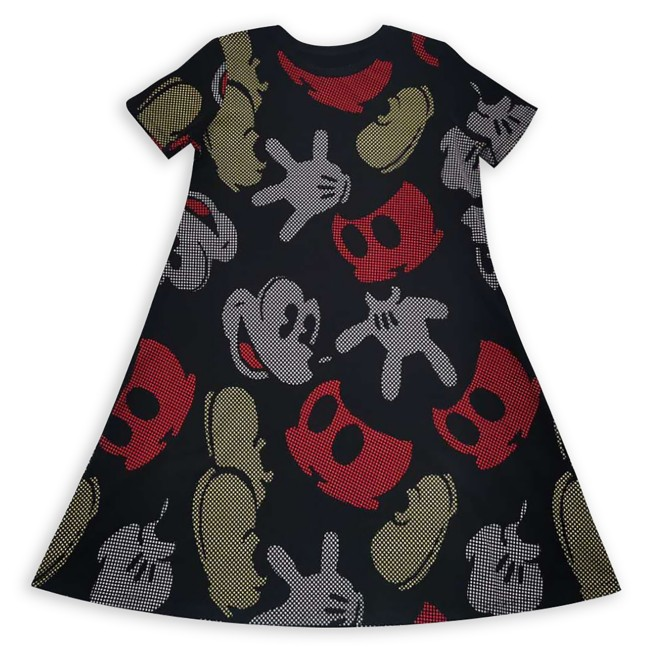 Mickey Mouse Parts Dress for Women