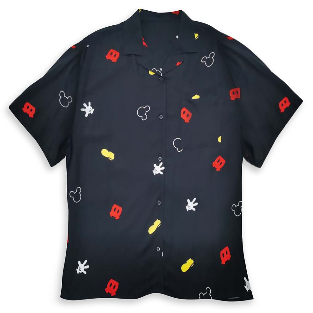 Mickey Mouse Parts Shirt for Women