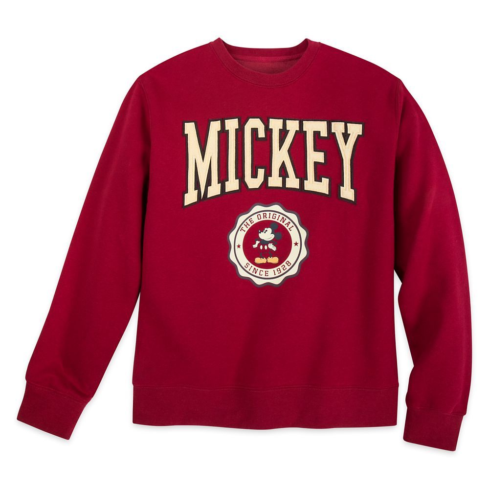 Mickey Mouse Varsity Sweatshirt for Adults