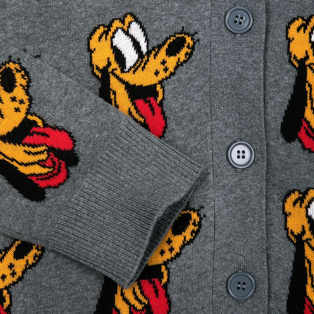 Pluto 90th Anniversary Varsity Cardigan for Adults