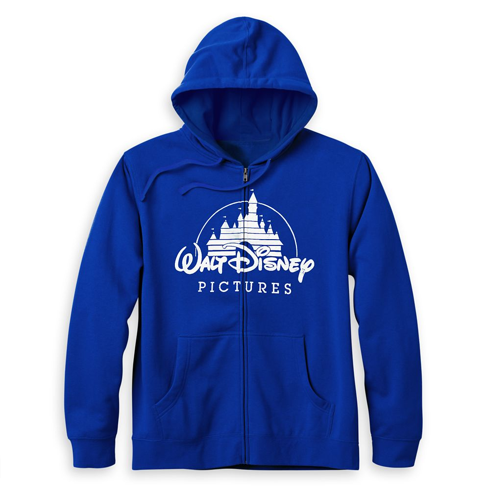Walt Disney Pictures Logo Zip-Up Hoodie for Adults