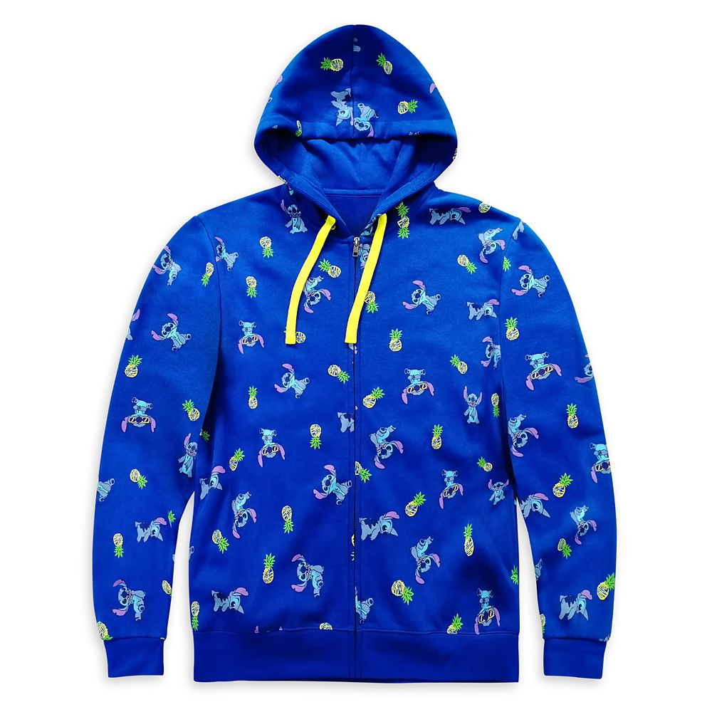 Stitch Zip-Up Hoodie for Adults – Lilo & Stitch