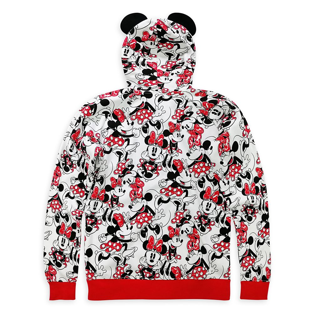 Minnie Mouse Zip-Up Hoodie for Women