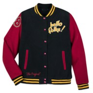 Mickey Mouse and Pluto Varsity Jacket for Adults