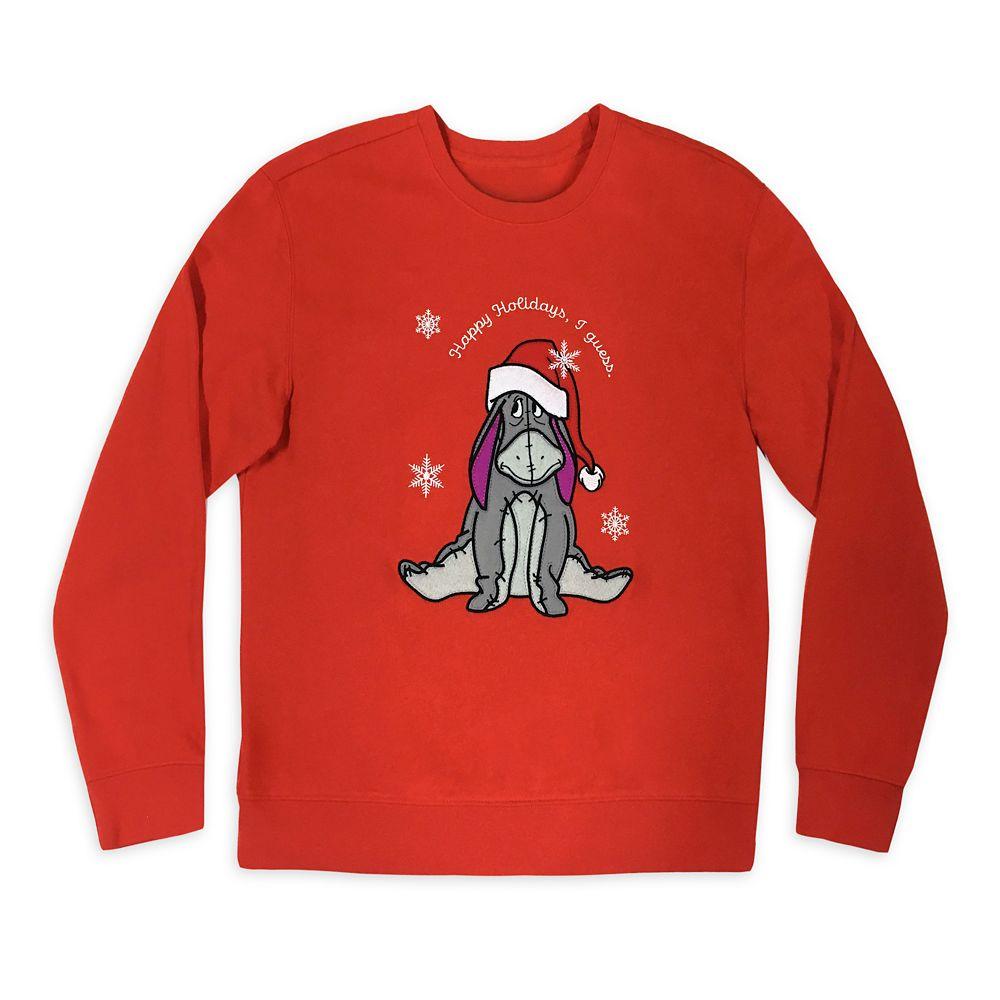 Eeyore Holiday Sweatshirt for Women