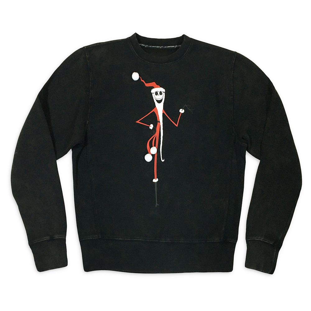 Jack Skellington as Sandy Claws Holiday Sweatshirt for Adults