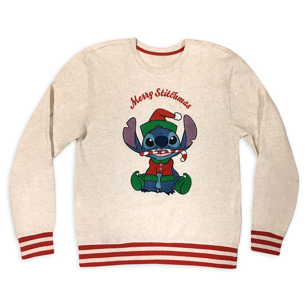 Stitch Holiday Sweatshirt for Adults