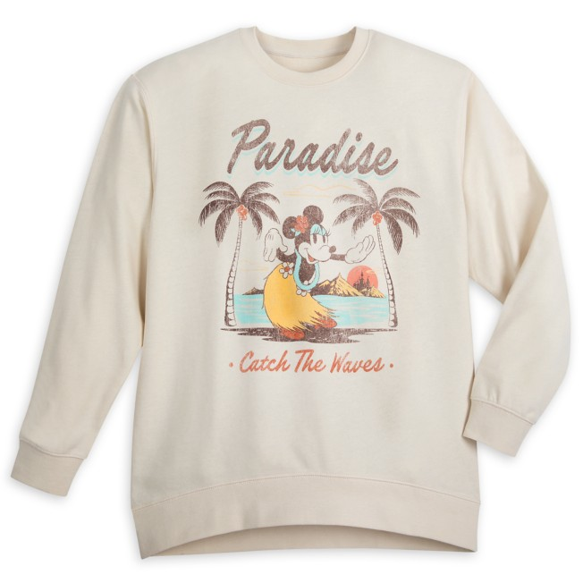 Minnie Mouse Tropical Pullover for Adults