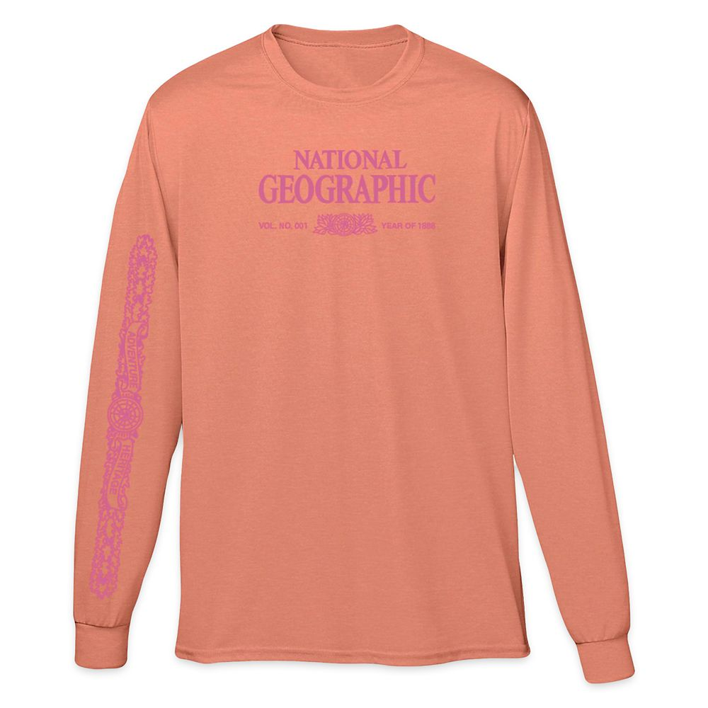 National Geographic x Parks Project Legacy Long Sleeve T-Shirt for Adults – Terracotta