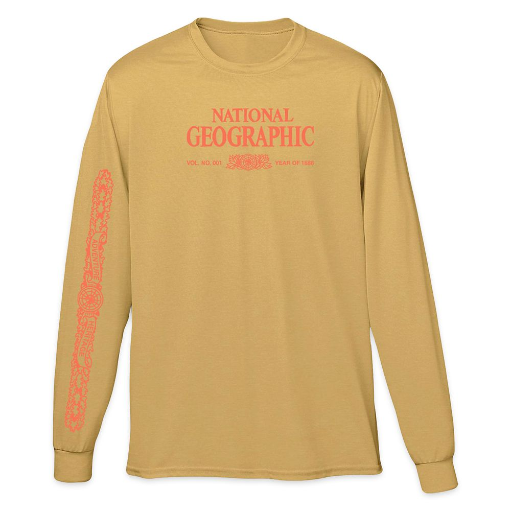 National Geographic x Parks Project Legacy Long Sleeve T-Shirt for Adults – Mustard