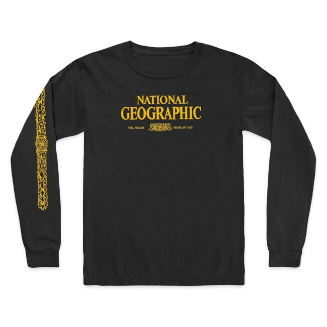 National Geographic x Parks Project Legacy Long Sleeve T-Shirt for Adults – Black