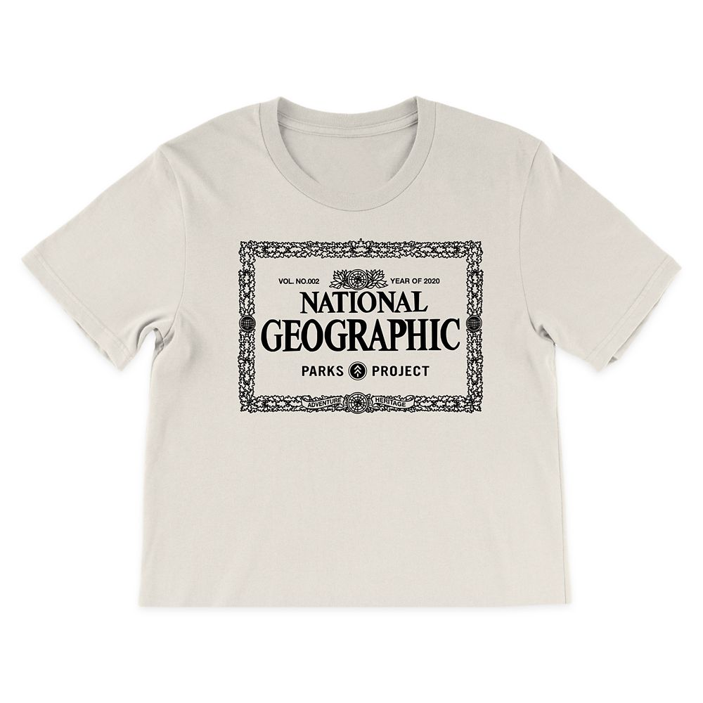 National Geographic x Parks Project Legacy Border Cropped T-Shirt for Women