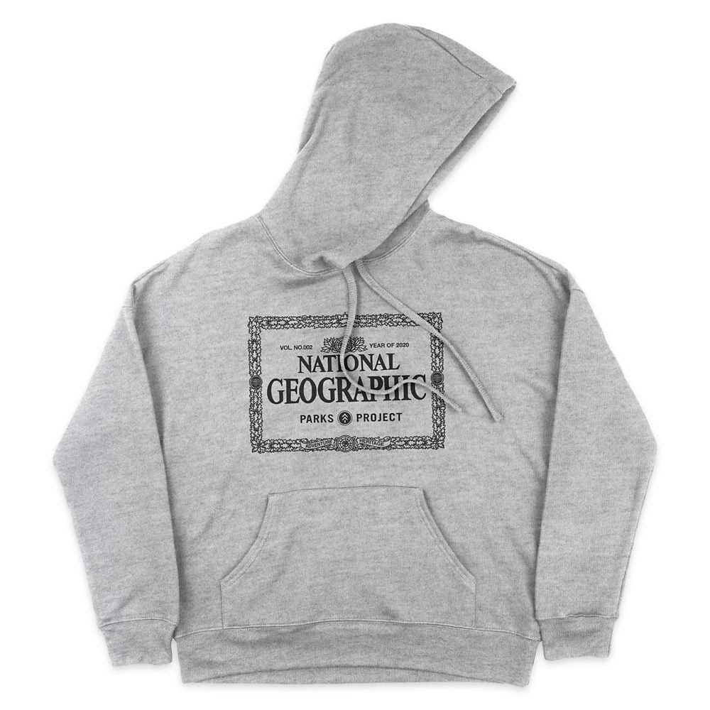 National Geographic x Parks Project Legacy Border Pullover Hoodie for Adults