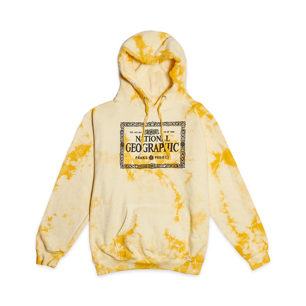 National Geographic x Parks Project Legacy Tie-Dye Pullover Hoodie for Adults