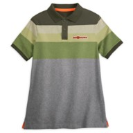 Walt Disney World Striped Polo Shirt for Adults – Green