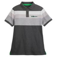 Walt Disney World Striped Polo Shirt for Adults – Gray