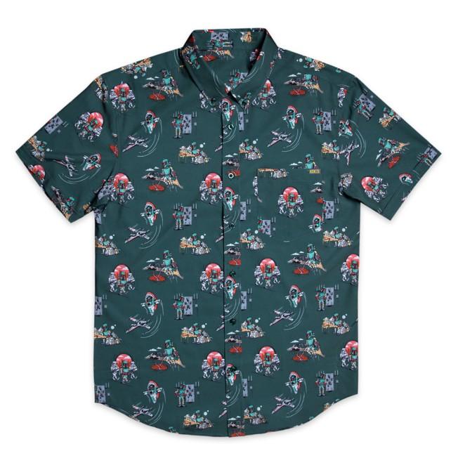 Boba Fett ''A Bounty Day'' KUNUFLEX Short Sleeve Shirt for Adults by RSVLTS – Star Wars