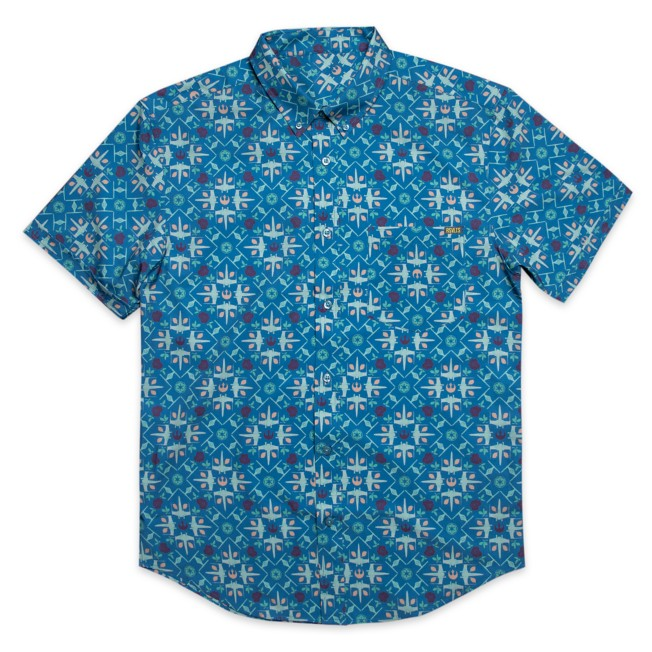 Star Wars ''Grand Maz Couch'' RSVLTS Short Sleeve Shirt for Adults with KUNUFLEX