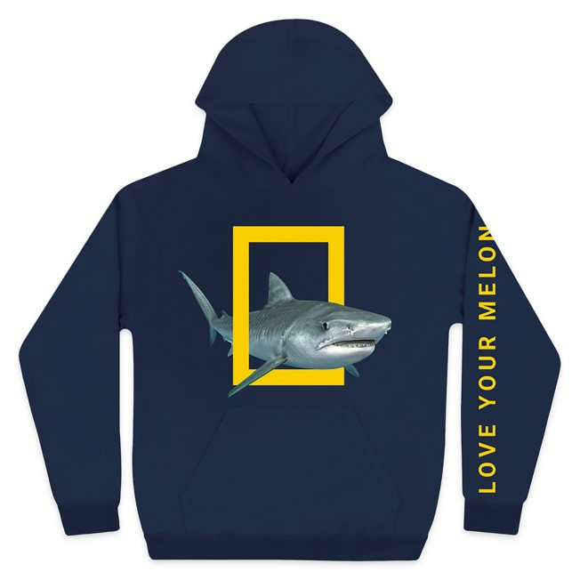 National Geographic Pullover Hoodie for Adults by Love Your Melon – Navy
