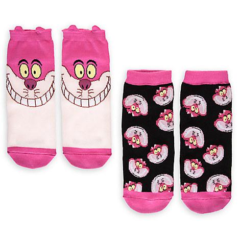 Cheshire Cat Sock Set for Women - 2-Pack