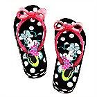 Minnie Mouse Platform Flip Flops for Girls