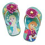 Anna and Elsa Flip Flops for Kids