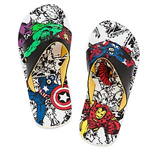 Marvel's Avengers Flip Flops for Kids