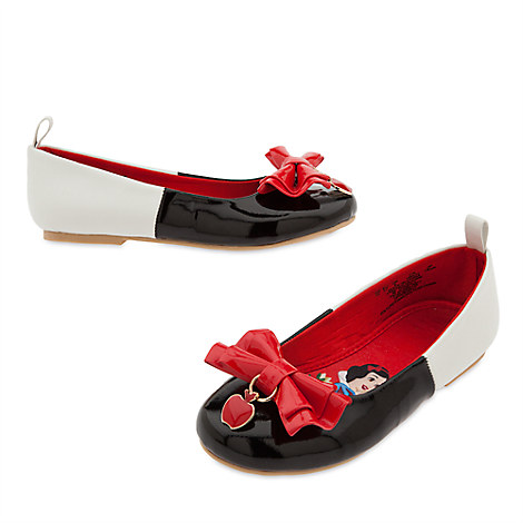 Snow White Flat Shoes for Kids