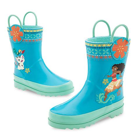 Disney Moana Rain Boots for Kids