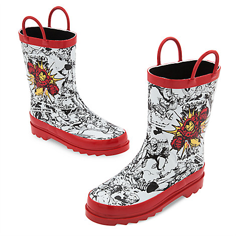 Iron Man Rain Boots for Kids | Disney Store