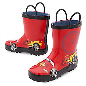 Lightning McQueen Rain Boots for Kids