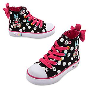 Minnie Mouse Polka Dot Sneakers for Girls