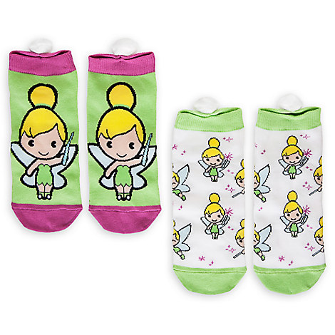Tinker Bell MXYZ Sock Set for Women - 2-Pack