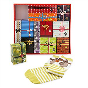 Disney Socks Advent Calendar Gift Set for Men